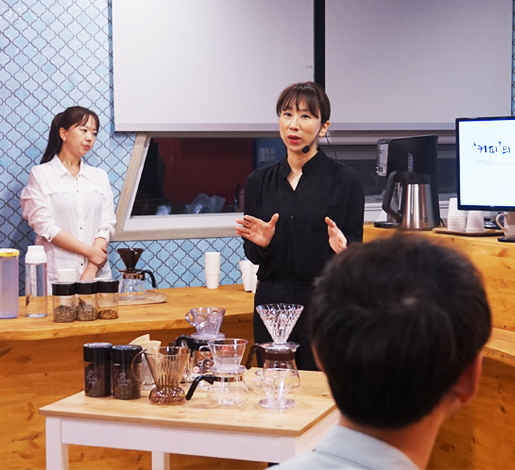 '커피의 품격'아빠도 바리스타